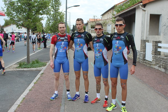Equipe Homme Parthenay 2016
